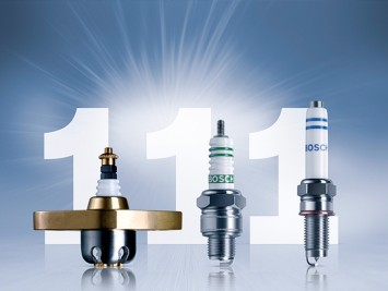 111 Years of Spark Plugs from Bosch