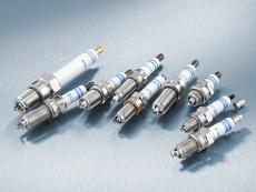 Bosch spark plug range